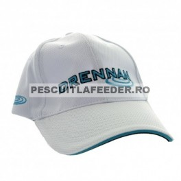 Sapca Drennan White/ Aqua Cap