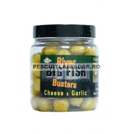 Boilies Dynamite Baits Big Fish River Busters - Cheese & Garlic