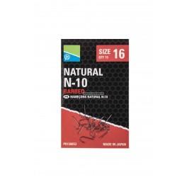 Preston Natural Hooks N-10