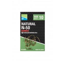 Preston Natural Hooks N-50