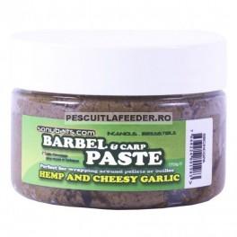 Pasta Sonubaits Barbel & Carp Paste - Hemp and Cheesy Garlic