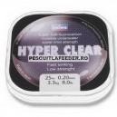 Fir Fluorocarbon Daiwa Hyper Clear  25m