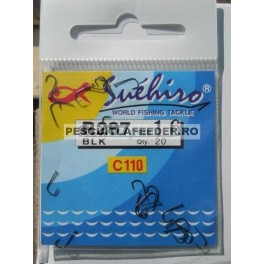 Carlige Milo Suehiro R287 Blk 20 buc/plic
