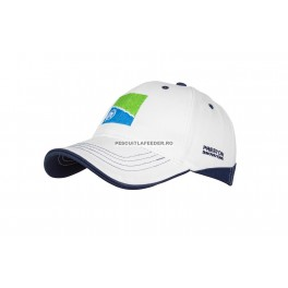 Sapca Preston White Cap