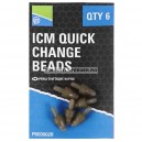 Preston Method Feeder Quick Change Beads, 6buc/plic