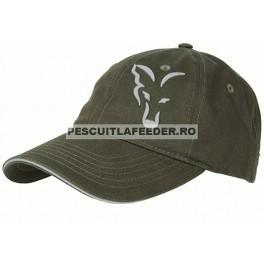 Sapca Fox Green & Silver Baseball Cap