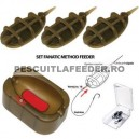 Set complet Method Feeder Extra Carp 20+30g
