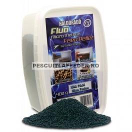 Haldorado - Fluo Micro Method Feed Pellet - Fuziunea Albastra / Blue Fusion