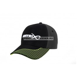 Sapca Matrix Baseball Hat, Grey/Lime