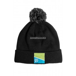Caciula Preston Black/Grey Bobble Hat