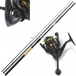 Kit Lanseta Browning Black Magic C-Distance II 3.90m 120gr - Mulineta Browning Black Magic 440 FD