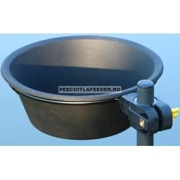 Suport Cu Vas Nada NuFish Bait Bowl With Ring NFX08