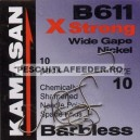 Carlige Kamasan B611 X Strong Wide Gape Barbless