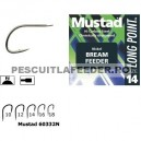 Carlige Mustad Feeder MU11 Nickel