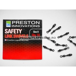 Preston Safety Link Swivels