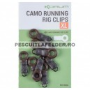 Inel Atasare Plumb Korum Camo Running Rig Clips XL