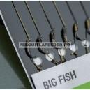 Carlige legate Korum Big Fish Braided Hair Rigs Barbed