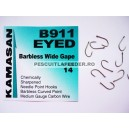 Kamasan B911 Eyed  Barbless