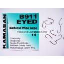 Kamasan B911 Eyed  Barbless