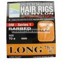 Preston Dutch Master Hair Rigs Long With Quickstops 75cm