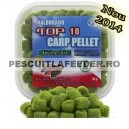 Haldorado - Top 10 Carp Pellet Peste Condimentat Nou 2014