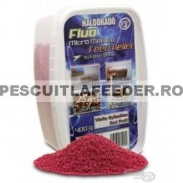 Haldorado - Fluo Micro Method Feed Pellet - Red Fruit