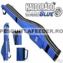 Husa Haldorado Hard Blue 160cm 3 compartimente
