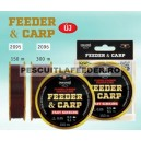 Fir Cralusso Feeder&Carp Fast Sinking Fluorocarbon Coated 300 m Nou 2017