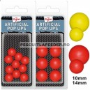 Pop Ups Artificiali Carp Zoom 10mm Rosu 10/plic