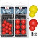 Pop Ups Artificiali Carp Zoom 10mm Rosu 10/plic