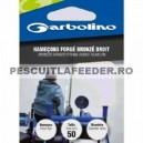 Carlige Legate Garbolino  50cm Forge Bronze Droit