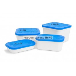 Preston White Bait Tub - 2pt / 1.2 litri