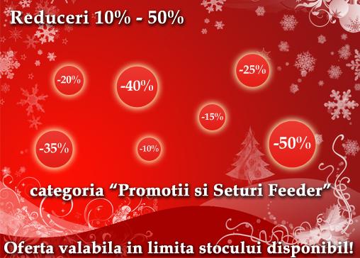 reduceri discount  mos nicolae 2014 pescuit la feeder