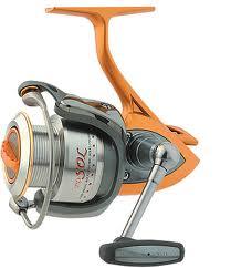 mulineta cu frana frontala destinata pescuitului la rapitor dar foarte folosita si in pescuitul la feeder