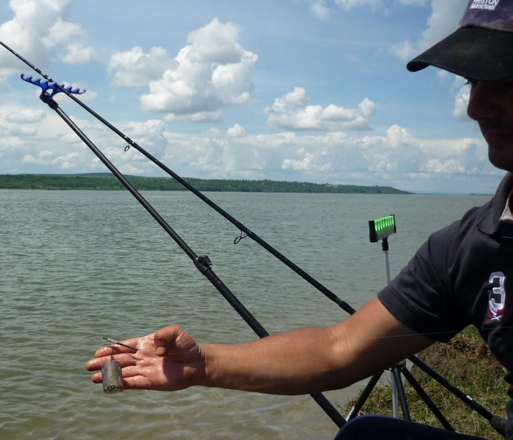 Cosulet Preston Open End foarte bun in pescuitul scobarului pe rau sau in pescuitul pe ape adanci