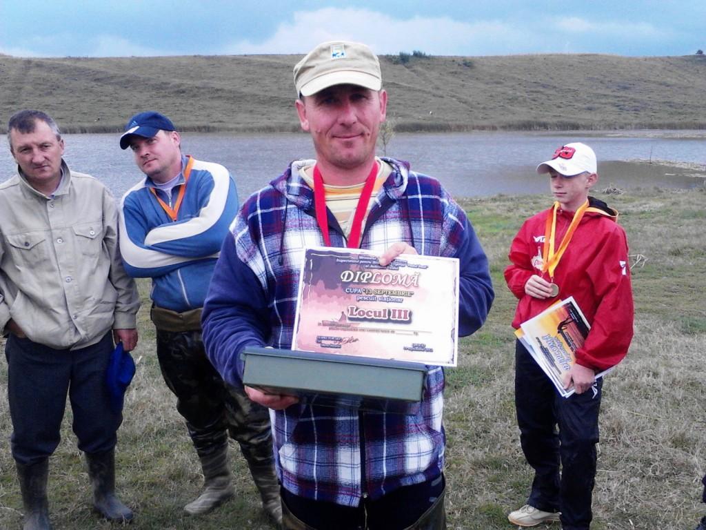 pescuit la feeder diploma locul III Gaby Tuchendrea