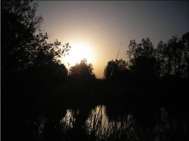 Ultimele raze solare dispar incet pe orizont