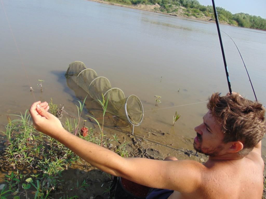 montura pescuit feeder scobari