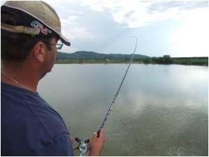 Pescuitul la crap cu method feeder si echipament fin aduce driluri de neuitat