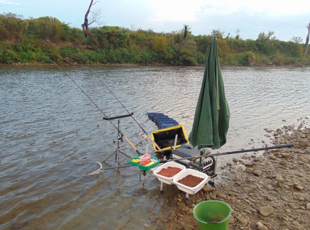 Totul este pregătit… Hai sa pescuim!
